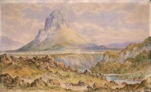 Barraud, Charles Decimus, 1822-1897 :[Pohaturoa near Atiamuri. 1875?]