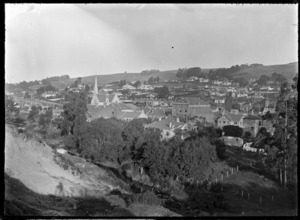 View over Green Island, Dunedin, 1926.