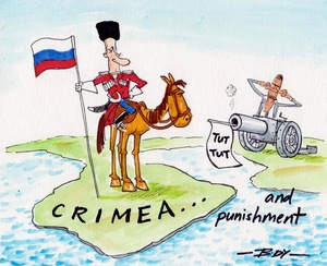 Body, Guy Keverne, 1967-:Crimea... and punishment. 8 March 2014