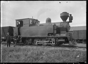 Waipa Railway & Collieries Ltd., Locomotive no. 1.