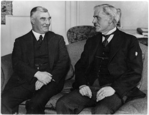 George Forbes and Ramsay MacDonald