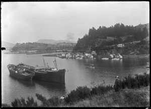 View across Carey's Bay, Port Chalmers.