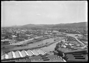 View over Gisborne in the 1920s