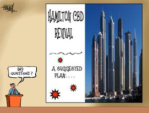 Hawkey, Allan Charles, 1941- :CBD revival. 4 August 2014