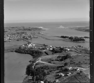 Raglan, Waikato, including harbour