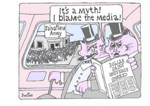 "Brockie, Robert Ellison, 1932- :""It's a myth! I blame the media!"". 17 July 2014"