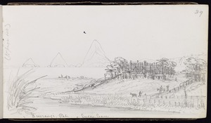 Warre, Henry James, 1819-1898 :Native pahs taken and destroyed - Taranaki, June 4 1863 - April 28 [1864]