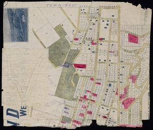 Beere, Wynford Ormsby, 1873-1964: Plan of Island Bay, Wellington South [copy of map with ms annotations]. W. O. Beere, C.E., Authorised surveyor, 27 Lambton Quay, Wellington, [ca.1905]
