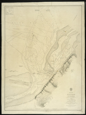 Nelson Anchorages [cartographic material] / surveyed by J.L. Stokes, 1850 ...