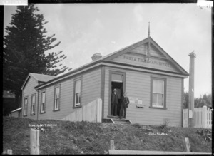Post and Telegraph Office, Kawhia, Waikato - Photograph taken by Jonathan Ltd