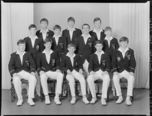 Rongotai College, Wellington, 1st XI cricket team of 1968