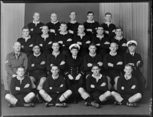 North Island Services representative rugby team, 1944