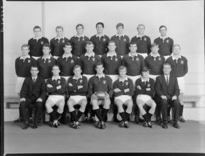 Wellington Rugby Football Union, junior representatives team of 1968