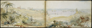 Williams, Edward Arthur 1824-1898 :Auckland Harbour. July 30 [1864].