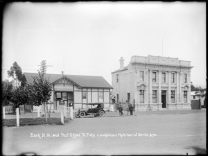 Post Office and Bank of New Zealand, Te Puke