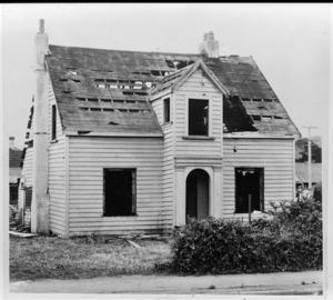Trevethick house under demolition, Moera, Lower Hutt