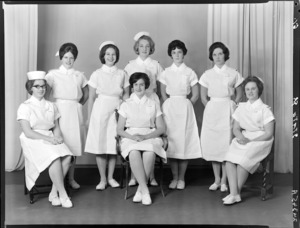 Nurses, Wellington Hospital, State Finals, November 1962
