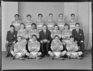 Marist Brothers Old Boys Rugby League Club, Wellington, senior team of 1968