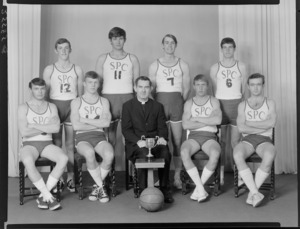 "St Patrick's College ""Celtics"" indoor basketball club, of 1968"