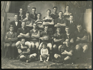 Rugby team, possibly from Westport