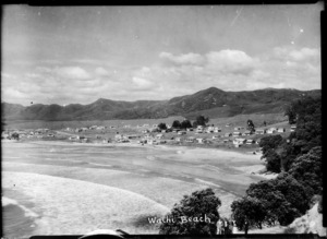 Creator unknown :Photograph of Waihi Beach