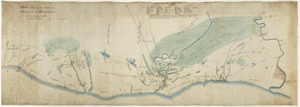 Field, Henry Claylands, 1825-1912 :Sketch map of the coast from Wanganui to Manawa pou [ms map]. H C Field, surveyor, Wanganui, [ca.1860-?]