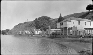 View of Kawhia, Otorohanga District
