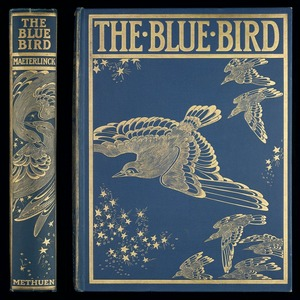 The blue bird : a fairy play in six acts / by Maurice Maeterlinck ; translated by Alexander Teixeira de Mattos ; with twenty-five illustrations in colour by F. Cayley Robinson.