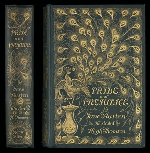Pride and prejudice / by Jane Austen, with a preface by George Saintsbury and illustrations by Hugh Thomson.
