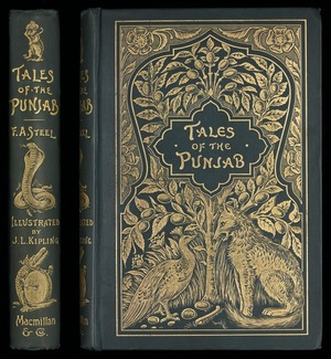 Tales of the Punjab : told by the people / by Flora Annie Steel ; with illustrations by J. Lockwood Kipling and notes by R.C. Temple.