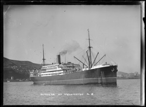 Ship Remuera, Wellington Harbour