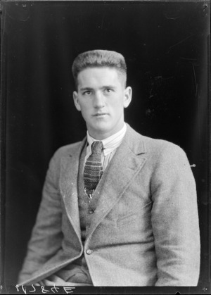 Ronald Terowie Stewart, All Black rugby player 1924