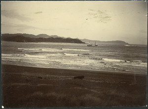 Creator unknown : Photograph of Kawhia Harbour, Waikato