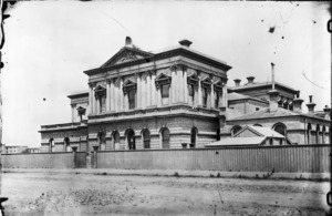 Photograph of the Wellington Supreme Court, Whitmore Street