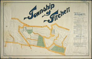 Township of Fitchett [cartographic material].