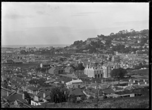 Part two of a three part panorama of Dunedin