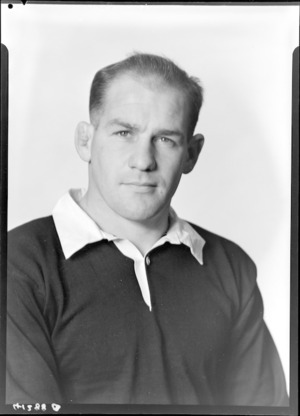 J K Sage, 1956 New Zealand All Black rugby union trialist
