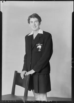 O Stevens, New Zealand Women's Hockey touring team, 1959