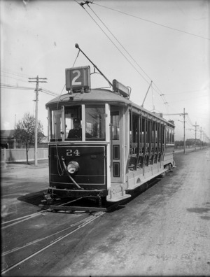 Christchurch tram, `Hills Car'