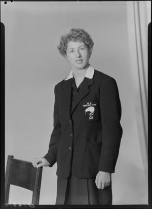 R Thomson, New Zealand Women's Hockey touring team, 1959