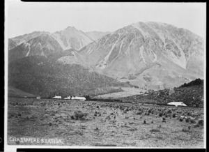Creator Unknown :Photograph of Grasmere Station, near Cass, Canterbury