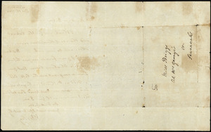 Letter from Rev John Wesley to Betsy Briggs