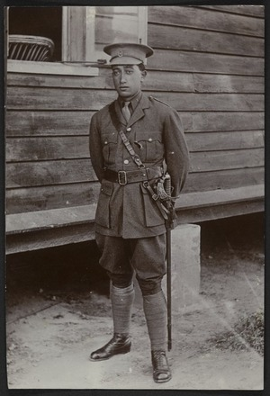 Papers relating to Maori involvement in World War One and World War Two
