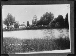 View of the bandstand, Opotiki