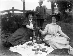 Women picnicking