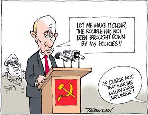 Tremain, Garrick, 1941- :Putin. 20 December 2014