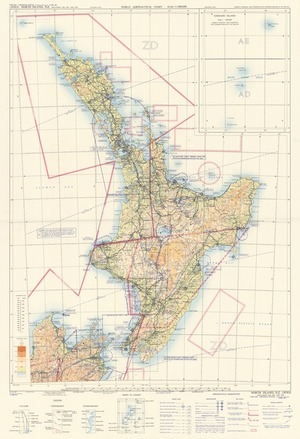 World aeronautical chart, ICAO 1:1,000,000. 3474S, North Island, N.Z. : (including 3362, 3453, and 3474).