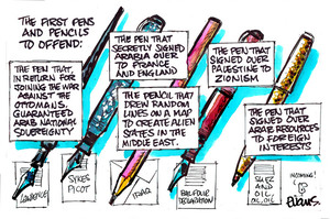 Evans, Malcolm Paul, 1945- :The First Pens to Offend. 13 January 2015