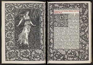 The wood beyond the world / by William Morris.