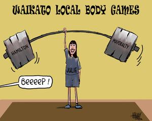 "Waikato Local Body Games - ""Beeeep!"" 11 October 2010"